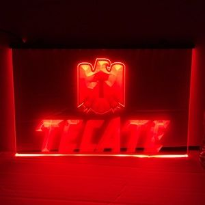TECATE LED SIGN TECATE LIGHT TECATE NEON SIGN